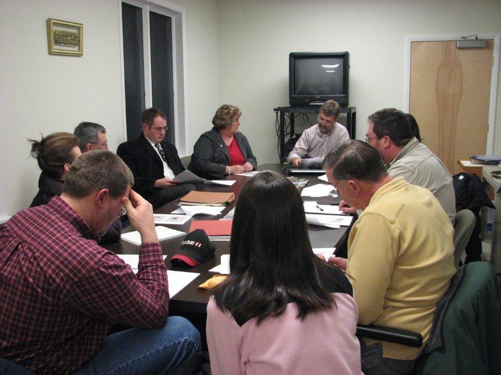 2011 Meeting with our Lesislators Senator Joe Hune and Rep Cindy Denby